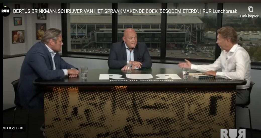 Bertus Brinkman - schrijver van het spraakmakende boek 'BESODEMIETERD'
